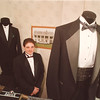 "5/2/97 Tuxes - James Neiss Photo - Nick Pressley is all spiffed up for his girlfriends prom at Wilson HS with a tux from ""Always A Party Limousine & Tuxedo""  on Porter Packard Road, NF."