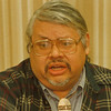 4/1/97 Rick Hill - James Neiss Photo -  Reservation Taxes Story.<br /> <br /> Tuscarora Indian Reservation Tax Protest Gas News
