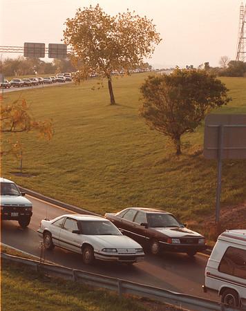 97/10/19--TRAFFIC--DAN CAPPELLAZZO Photo==MOSES SOUTH TRAFFIC.<br /> <br /> 1A