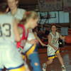 98/03/14 Open Up *Dennis Stierer photo - Lockport's Kori Wallace looks for an opening in Saturday's game.
