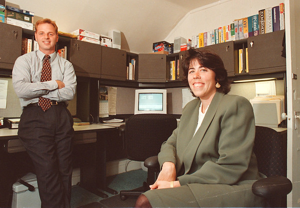 7/3/97 care network--Takaaki Iwabu photo-- Stephen Dillon and Jeanne Battaglia run Managed Care Network in Niagara Falls. --refer to Liz story for more info<br /> <br /> 1A, Sunday or Money, Sunday