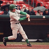 5/31/97-- LP baseball -- Takaaki Iwabu photo-- Mike Cournyea of Lew-Port takes a swing during the play-off game against Cheektowaga HS. <br /> <br /> sports, sunday