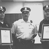 98/06/03 Police Awards-Rachel Naber photo-(left to right) Eric Harling recieved  police chief Jose Avila award along with John Doyle.