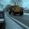 97/01/10 Icy Day 2 - James Neiss Photo - A salt truck drives up Ontario Ave..