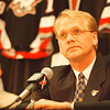 6/11/97-- new GM --Takaaki Iwabu Photo -- Darcy Regier was introduced to the media as a new general manager of Sabres Wednesday at Marine Midland Arena. <br /> <br /> sports, Thursday