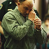 5/14/97--LaPATRA TRIAL--DAN CAPPELLAZZO PHOTO--PAUL LaPATRA WIPES AWAY TEARS AS AFTER AN EMOTIONAL PLEA FOR  A LESSER SENTENCE.<br /> <br /> 1A NEWS