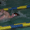 98/01/09 Lockport Swim 3*Dennis Stierer photo - Mark Scranton during the 200 Freestyle. Mike won this event with a time of 1:52.07.