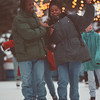 97/10/14-- Winter/Fall 2--Takaaki Iwabu photo-- Lackey E. Dent Plaza Ice Skate Rink was filled with local skaters....