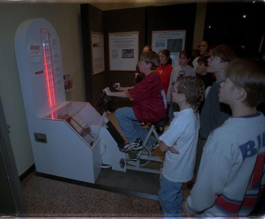 "97/11/05 In The Dark 3 - James Neiss Photo - Buffalo Museum of Science ""In the Dark Exhibit"""