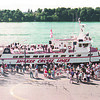 9/14/97--LEWISTON CRUISE LINES--DAN CAPPELLAZO PHOTO--A CRIOWD GATHERS AT THE LEWISTON DOCKS AS THE SHAKER CRUISE LINE COMPLETES IT'S MAIDEN VOYAGE FROM TORONTO.<br /> <br /> 1A NEWS