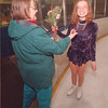2/17/97 Leslie Gardner - James Neiss Photo - Susan Gardner is proud of her doughter Leslie Gardner 19yrs who qualified for the upcomming Special Olympics durring tryouts at Saberland today. The Gardner's are from Wheatfield.