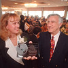 2/19/97 CVB Awards Lunceon - James Neiss Photo - Doreen O'Connor, Chairman of CVB Board awarded the CVB Chairmans Award to Joseph T. Pillittere.