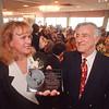 2/19/97 CVB Awards Lunceon - James Neiss Photo - Doreen O'Connor, Chairman of CVB Board awarded the CVB Chairmans Award to Joseph T. Pillittere.