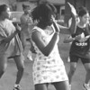 5/28/97 Drill Team --Takaaki Iwabu photo-- Michelle Hamilton, 17, keeps in time with other dancers of Ratha Unique as they practice on North Ave. Wednesday. The local drill team will perform at Gallagher Center in Niagara University Friday evening. <br /> <br /> local, Thursday