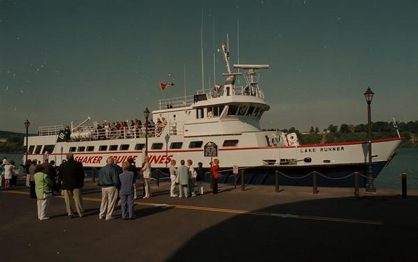 98/06/02--cruise line--dan cappellazzo Photo--shaker cruise at lewiston docks.<br /> <br /> echo