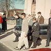 98/02/07--FUNERAL--BILL MICHELMORE PHOTO--THE CASKET BEING CARRIED OUT OF SACRED HEART CHURCH.<br /> *****EDS ADVISOR--I ATTENDED THE FUNERAL HOPING TO SHOOT PHOTO'S, BUT WAS ASKED BY THE FUNERAL DIRECTOR THAT THE FAMILY ASKED FOR NO PICTURES OF THE FUNERAL. OUT OF RESPECT FOR THEIR WISHES (THEY HAVE BEEN VERY HELPFUL WITH PHOTO'S AND INTERVIEWS) I DID NOT SHOOT THIS. BILL TOKK A FEW FRAMES, IT'S YOUR CALL.?<br /> CAPPY*******