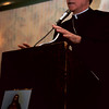 98/05/01 Bishop  Mansell-Rachel Naber Photo-bishop henry Mansell speaks at the Como Resturant to the Firts Firday club for their 50th anniversary ReUnion.
