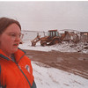 2/12/97 Water Line Break - James Neiss Photo - Shannon Borget 19yrs of 217 Anthony Dr. said the water was up to her knees last night. She lives in a trailer across the street with her mother.