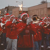 97/11/22-- Fest. of Light 2--Takaaki Iwabu photo-- A marching band leads the parade....