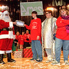 98/12/03 Christmas Play *Dennis Stierer Photo<br /> L=R:  Santa (Christopher Kozody);  Billy, (Christopher Parada);  Chester, (Andrew Kiebala);  and Sister, (Theresa Jones).