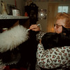 97/12/03 Baby Boy - James Neiss Photo - Irene Bouley of Lockport loves her cat Baby Boy. Judy K. Story.