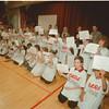 98/01/23 D.A.R.E. Grad  2 - James Neiss Photo - DARE Graduates show off their certificates at the Kalfas Magnet School.