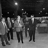 "1/9/97--TECHMOTIV--CAPPY PHOTO--(LTOR)COUNCILMAN GUY ""TOM"" SOTTILE, DEVELOPER ARMAND CERRONE, MAYOR JAMES GALIE, TECHMOTIV G.M. JAMES WOOD AND TECHMOTIV PRESIDENT ARTHUR HAYDEN TOUR THE NEW TECHMOTIV BUILDING  AT 1500 JAMES AVE. AND HIGHLAND AVE.<br /> <br /> $$$PG"