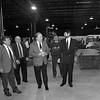"1/9/97--TECHMOTIV--CAPPY PHOTO--(LTOR)COUNCILMAN GUY ""TOM"" SOTTILE, DEVELOPER ARMAND CERRONE, MAYOR JAMES GALIE, TECHMOTIV G.M. JAMES WOOD AND TECHMOTIV PRESIDENT ARTHUR HAYDEN TOUR THE NEW TECHMOTIV BUILDING  AT 1500 JAMES AVE. AND HIGHLAND AVE.<br /> <br /> $$$PG"