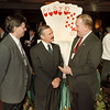 97/12/09--CASINO ANNIV--BILL MICHELMORE--(LTOR) CITY CONTROLLER ANTHONY RESTAINO AND NF MAYOR JANES GALIE SPEAK WITH NF, ONT., MAYOR WAYNE THOMSON AT THE CASINO NIAGARA CELEBRATION.<br /> <br /> 1A