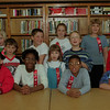 98/04/27 Star Students - *Dennis Stierer photo - Star Students at Charlotte Cross School are from left - sitting - Fred Haner; Monica Wallace; Mahogany Griffin; Brian Persina; and standing from left are Devon Hall; Maria Udell; Joseph Drake; Jamie Bootes; Nicole Micoli; Kelley Potts; Ross Kohler; Nikki Benedict; and George Tocco.