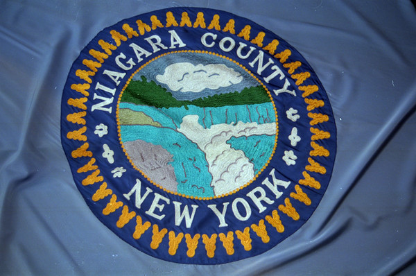 98/1/30 NF Seal3-Rachel naber Photo- Niagara Conty has no official seal. Teresa, Sunday