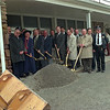 98/04/08 New Safety Bldg.*Dennis Stierer photo - Many  local officials were on hand for the groundbreaking  which took place today in Albion for the new Public Safety Building.
