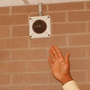 97/09/26 Lasalle Servalenece - James Neiss Photo - Small cameras are in place to keep an eye on activities in many areas of the school.