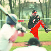 5/14/97--AOW/CHRIS AUSTIN--DAN CAPPELLAZZO PHOTO--WILSON PITCHER CHRIS AUSTIN HURLES AGAINST ALBION.<br /> <br /> SP
