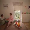 7/1/97 Visitation Program - James Neiss Photo - Lynn Shaftic-Averill, Executive Director of the YWCA and Elsie Stryker, Volunteer and Boardmember, talk about the Family Visitation Program at the YWCA of the Tonawandas.