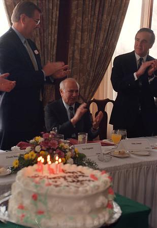 1/29/96 Eddie Joseph - James Neiss Photo -  Eddie Joseph was honored for his 80th birthday durring a community lunceon at the Niagara Falls Country Club.