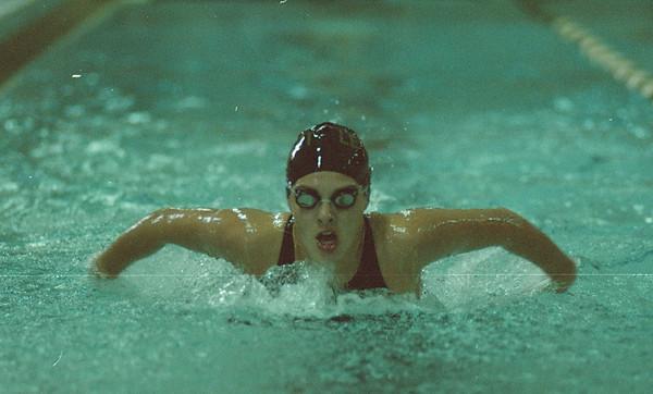 97/10/07-- Brie Schroeder, action--Takaaki Iwabu photo-- Brie Schroeder in action...