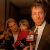 97/11/18--KELLY/HUNTERS HOPE--DAN CAPPELLAZZO PHOTO--A SOMBER JIM KELLY, ALONG WITH WIFE JILL AND 2.5-YR OLD DAUGHTER ERIN, REFLECTS ON THE POOR PERFORMANCE BY TODD COLLINS AND WISHED HE COULD HAVE PLAYED MONDAY NIGHT. HE WAS AT JOHN FLAMMING HEART TO RAISE $$$ FOR HUNTERS HOPE.<br /> <br /> 1A1