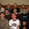 98/12/08 Lyndon Althlete-Rachel Naber Photo-(Row#1from Left) Tim Kenyon, John Gillard. (Row#2 from left)Andy Gardner,Scott Bradley,Josh Hurley, Jon Oakes. ( Row#3 from Left) Pat Gillard, John Follman, Dan Hogan, Tom Weber, Adam Robison. Missing- Brett Wilson