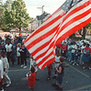 """97/08/05 Night Out 1--Residents of Niagara Falls joined the nationwide anti-crime event """"Night Out Rally"""" gathering at the parking lot on 6th and Ferry Ave. <br /> <br /> 1A, Wednesday"""