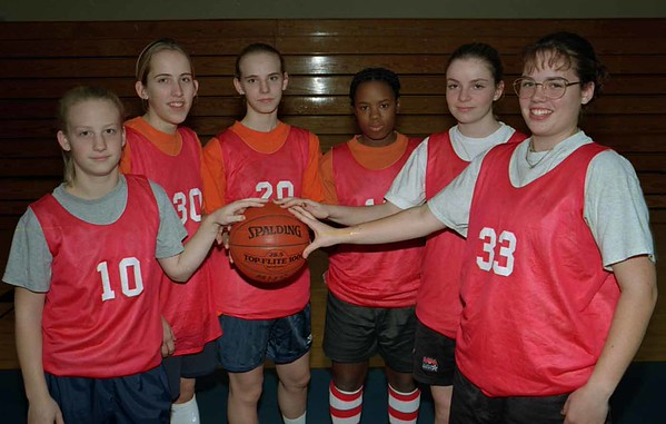 98/12/01 Medina G-Returnees   *Dennis Stierer Photo<br /> L-R:  Jennifer Saj;  Jaren Eick;  Brooke Callara;  Helen King;  Ciara Boice;  Chrissy Beach.