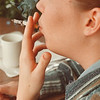 10/20/97-- smoking --Takaaki Iwabu photo-- An art for smoking story.... please put a generic cutline without the subject's name and age. <br /> <br /> 1A, Tuesday, color
