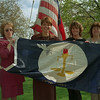 98/04/20--flag raising-- photo by ???? -- picture of flag raising, ask Mike Wertman for caption information. <br /> <br /> Medina, color