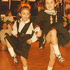 98/03/17--St. Patrick 2--Takaaki Iwabu photo-- Bianca Genova, left, and Kyle McDonald, 7, both from McCarthy School of Irish Dancers, show off their steps at the St. Patrick Day Festival at Convention Center.