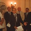 6/23/97 George Maziarz - James Neiss Photo - State Senator  George Maziarz press conference at the county building. Upset set with IDA practices.