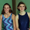 98/12/09 M-G-Swim Captains *Dennis Stierer Photo <br /> Girls Swim Captains - Medina High School<br /> L- Michelle Crandall<br /> R- Susan Houserman