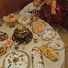 98/12/05 Gonzalez - Vino Wong Photo - Anne Gonzalez and her grandson, Nicky, 9, proudly display their Christmas recipes at her home 4530 Isherwood Drive in Niagara Falls.