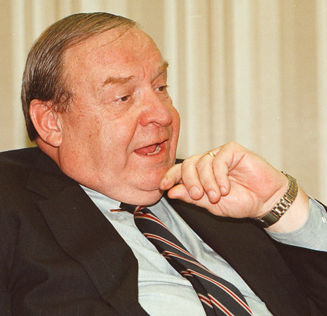 97/08/26--RAPPLEYEA FILE--DAN CAPPELLAZZO PHOT0-- POWER  AUTHORITY CHAIRMAN CLARENCE RAPPLEYEA FILE Photo from 1996.<br /> <br /> 1a