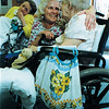 "98/05/22 Alternative Age-Rachel Naber Photo-Dee Smith sings ""You are my Sunshine"" with Loretta a resident at the Orleans County nursing home in Medina"