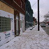 1/31/97--CONSTRUCTION/NIAGARA--DAN CAPPELLAZZO PHOTO--NEW BLDG FRONT AT 1204 NIAGARA ST. BY  SEAN SCHOTT CONTRACTOR EASTERN DYNAMICS.<br /> <br /> 1A